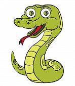 foto of anaconda  - Snake Editable  - JPG