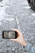 picture of cobblestone  - travel concept  - JPG