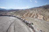 stock photo of arid  - Death valley a arid landscape California USA  - JPG