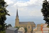 foto of andes  - Cathedral of the city of San Carlos de Bariloche - JPG