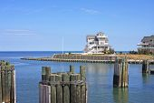 picture of outer  - coastal town of Hatteras on the Outer Banks - JPG