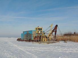 stock photo of dredge  - ice - JPG
