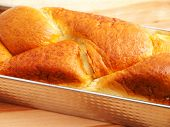 image of home-made bread  - Close up of home made sweet bread - JPG