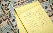 Um orçamento de financiamento