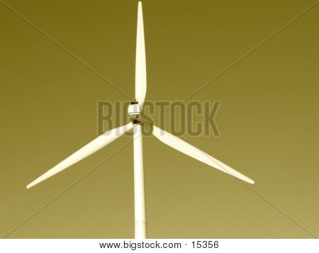 Sepia Wind Power poster