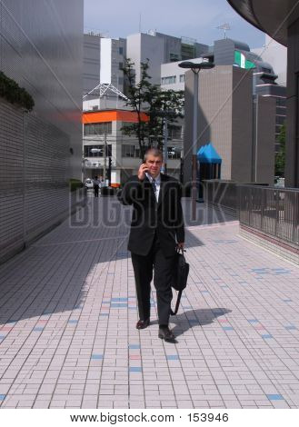 poster of Businessman In A City
