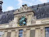 Architectural detail. Paris
