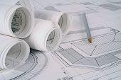 Planos do arquiteto