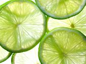 Close up photo of lime background