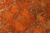 grunge rusty brown metal surface or iron background rough structure or texture