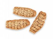 stock photo of wasa bread  - swedish crispy breads on a white background - JPG