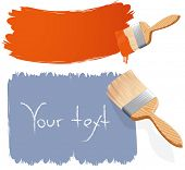 picture of paint brush  - Paint brushes - JPG