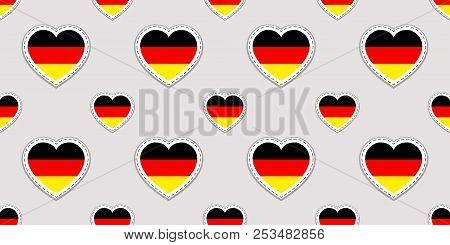 Germany Vector Background German Flag