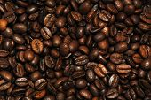 Lots Of Coffee Beans