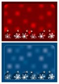red and blue christmas greetings