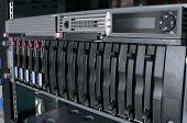stock photo of raid  - network server - JPG