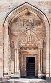 Door To Ottoman Sultan Palace Ishak Pasha In Turkey