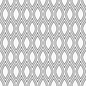 Abstract Seamless Pattern. Modern Stylish Elegant Texture. Repeating Smooth Geometric Tiles. Design  poster