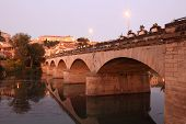 Old Bridge In Beziers, France