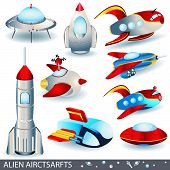 Alien Aircrafts