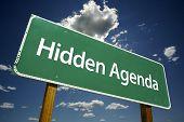 Hidden Agenda Road Sign