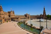 view of Plaza de Espana, Sevilla, Spain