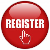 Vector register icon