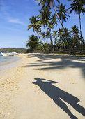 Sombra de la playa