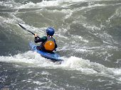Boy Kayaking