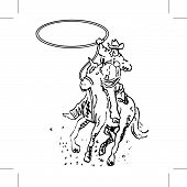 Roper In A Rodeo