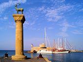 Mandraki Harbor, Rhodes