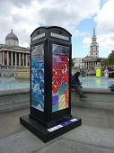 Bt Artboxes In Londons Trafalgar Square 19Th June 2012