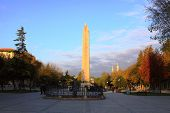 he Obelisk of Theodosius