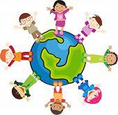 Multi cultuur kinderen