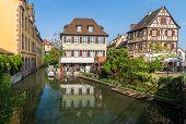 Klein Venedig Bezirk Colmar - Elsass, Frankreich