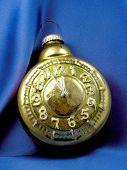Christmas Toy.retro Alarm Clock poster