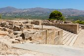 Palace Of Phaistos. Crete, Greece