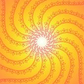 Flower Rotation Background