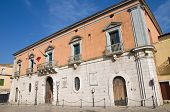 Calvino Palace. Venosa. Basilicata. Italy.
