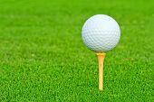 Golf Ball Closeup