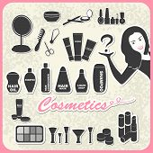 Set of cosmetics