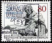 Postage Stamp Germany 1985 Wilhelm Von Humboldt, Statesman, Philosopher