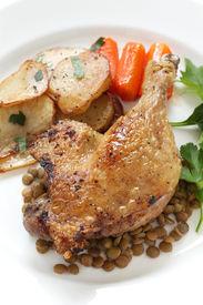 picture of canard  - confit de canard - JPG