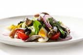 Salad with Anchovy and Vegetables