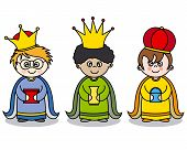 picture of three kings  - Letter to the Three Kings - JPG