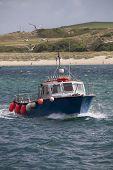 Small Boat at Padstow, Cornwall
