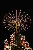 Christmas Fair Light Up Wheel