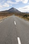 Road To The Errigal Mountains Ireland