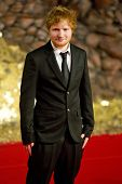 BERLIN - DEC 9: Ed Sheeran at The Hobbit: The Desolation of Smaug - German premiere on December 9, 2