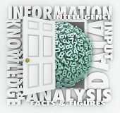 Data Information Door Opening Insight Analysis Numbers Figures